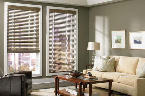 Bring The Warmth And Beauty Of Real Wood To Life Indoors With Custom Crafted Faux Blinds Drapery House Offers A Huge Collection Rich